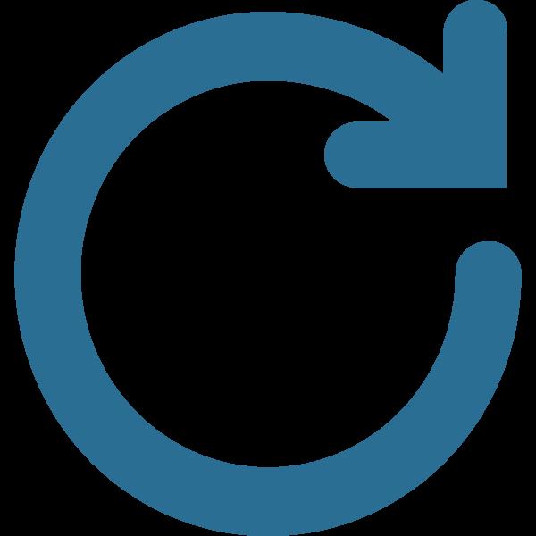 circle with an arrow